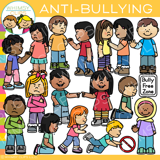 Bully clipart bully child. Kids anti bullying clip