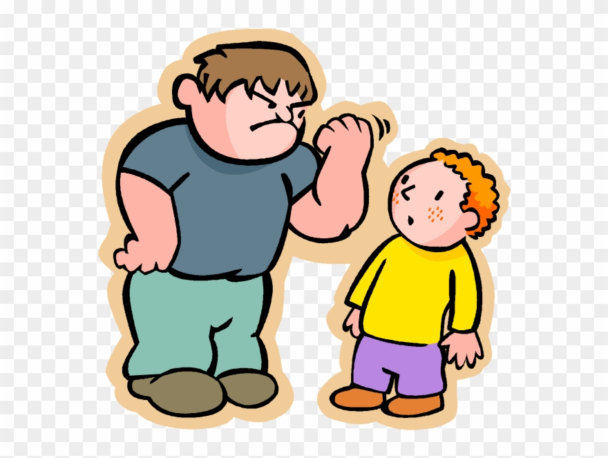 Bad behaviour bullying png. Bully clipart transparent background