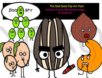 Bad clipart clip art. The seed pack
