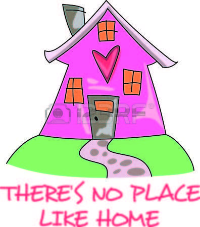 Home is where the. Bad clipart contempt