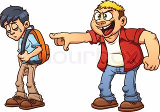 collection of kids. Bully clipart bad kid