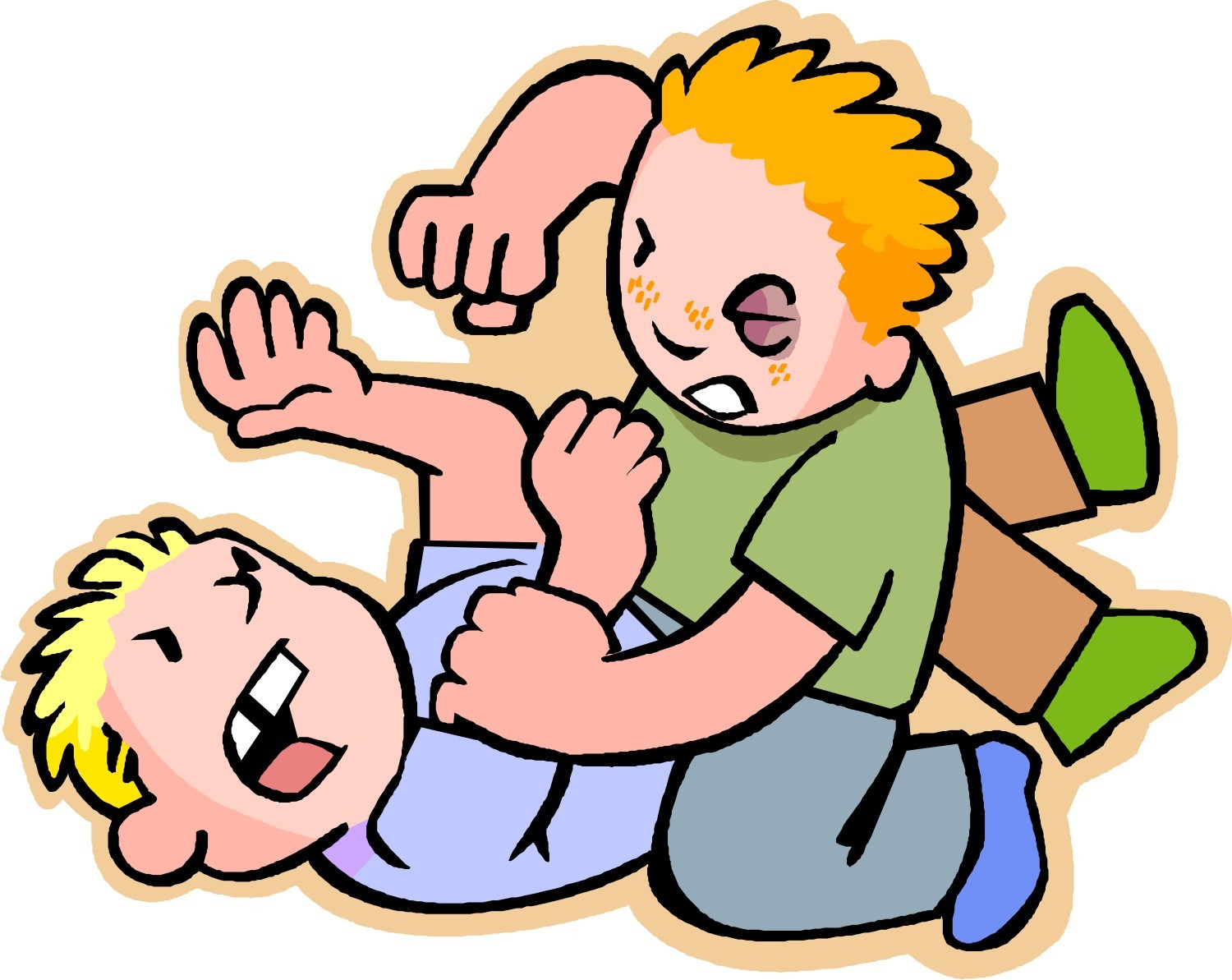 collection of kids. Bad clipart doings