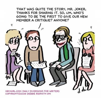 Bad clipart group work. When critique groups go
