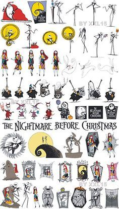 Before christmas vector clip. Bad clipart nightmare