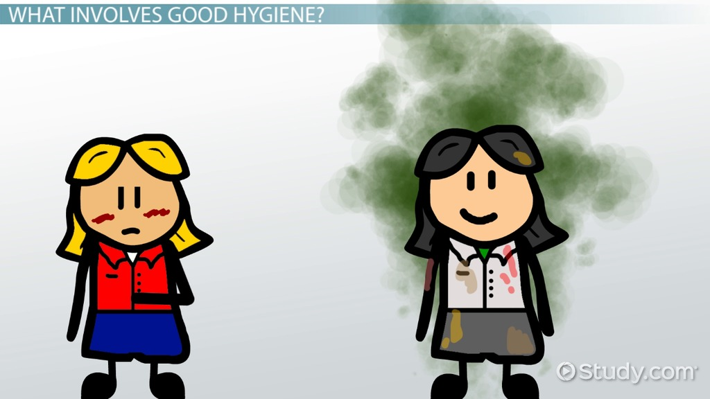 Bad clipart personal hygiene. Importance of good for