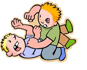 Discipline for teens sibling. Bad clipart physical assault
