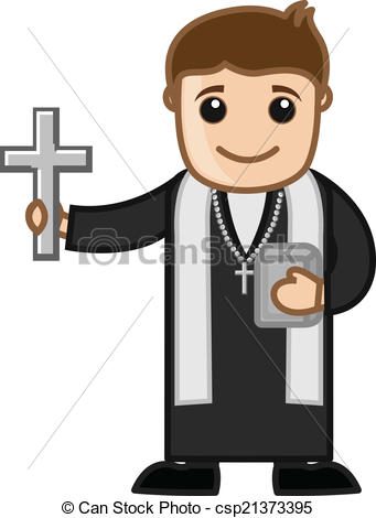 collection of drawing. Bad clipart priest