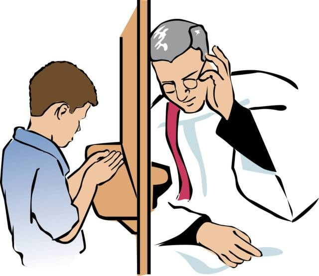 Go to confession i. Bad clipart priest