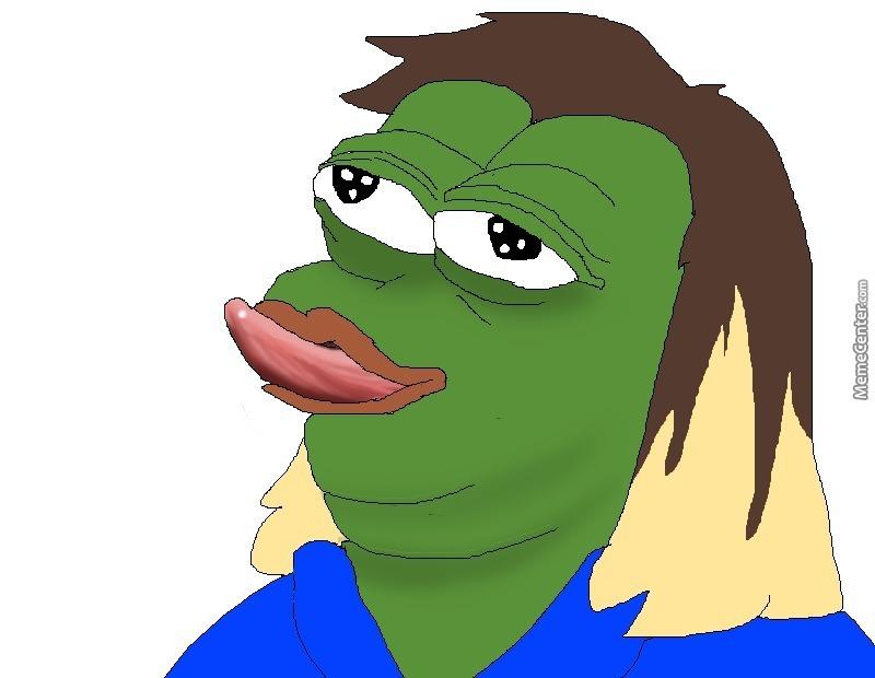 Bad clipart sad. Pepe the frog feels