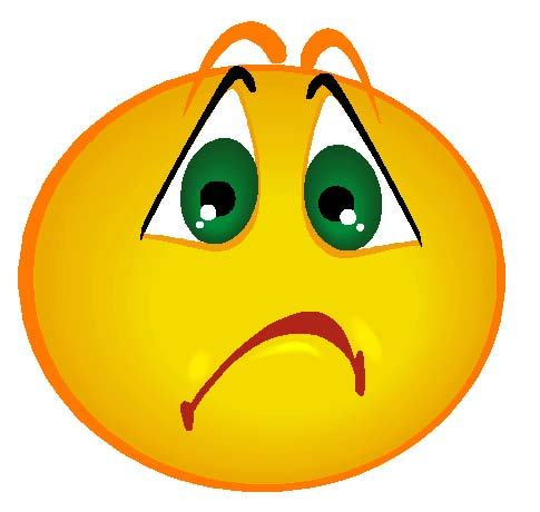 Sad face picture clip. Depression clipart disappointed