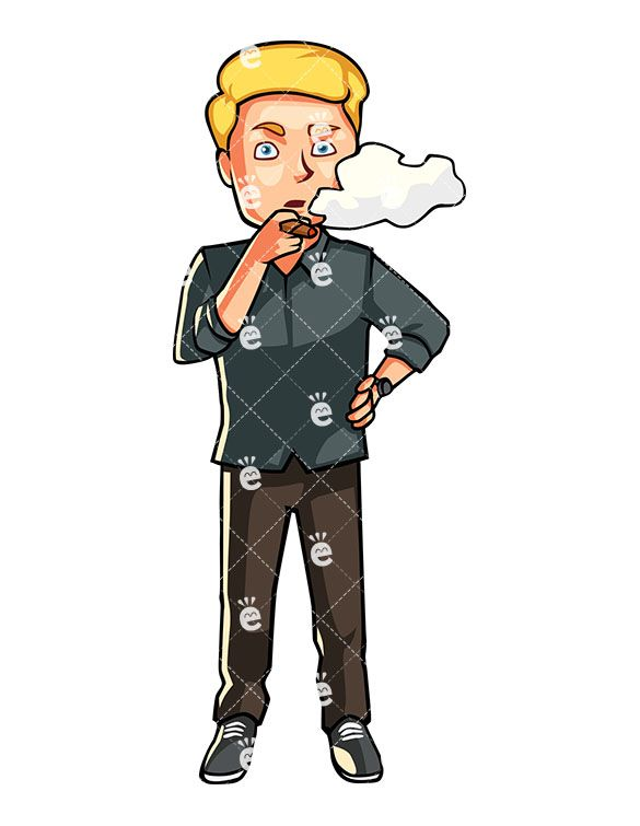 Bad clipart smoking. A man cigar friendlystock