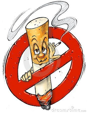 Bad clipart smoking.  best no signs
