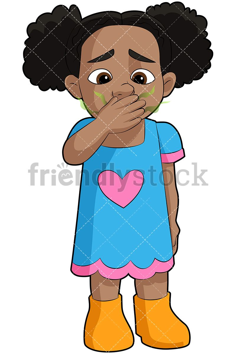 Black girl with bad. Breath clipart exhalation