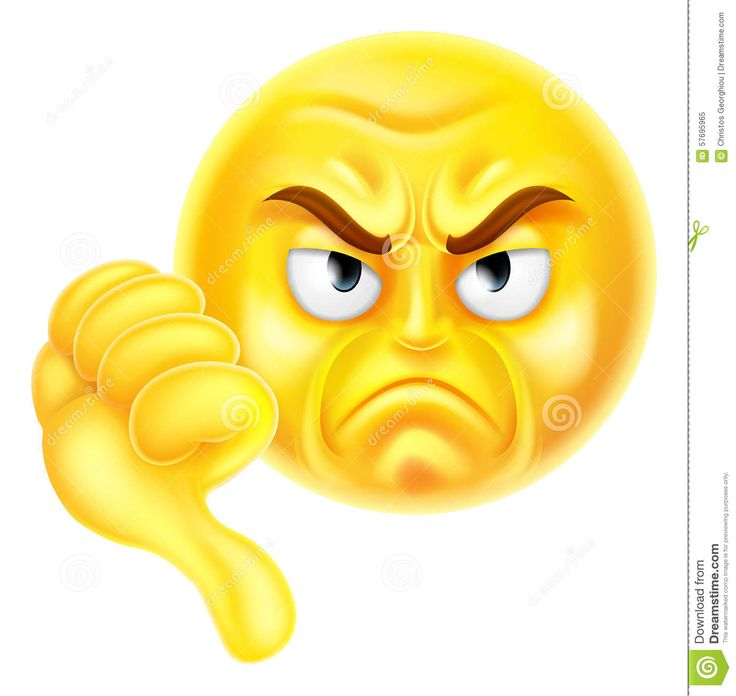 best emoji faces. Bad clipart thumbs down