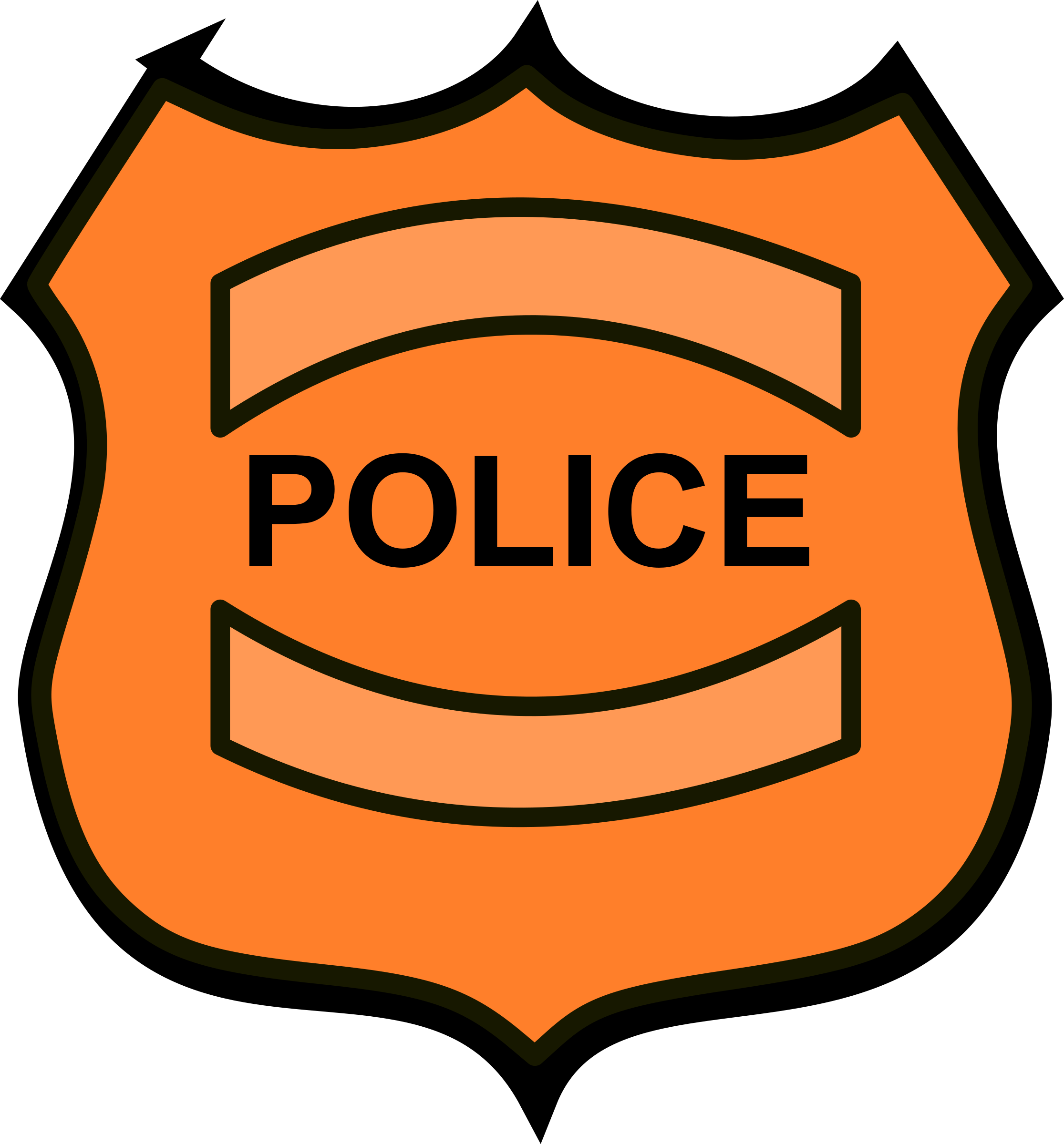 Police big image png. Badge clipart