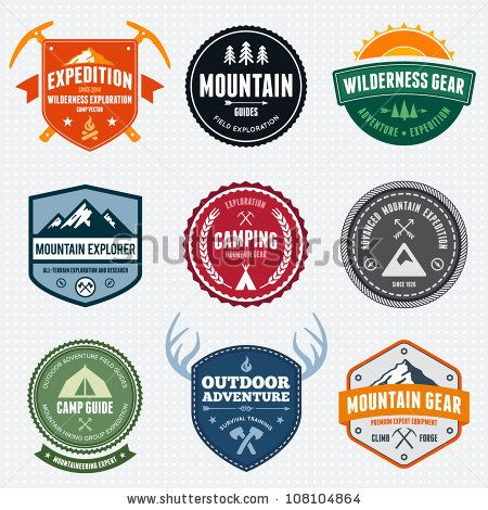 best logo ideas. Badge clipart camping