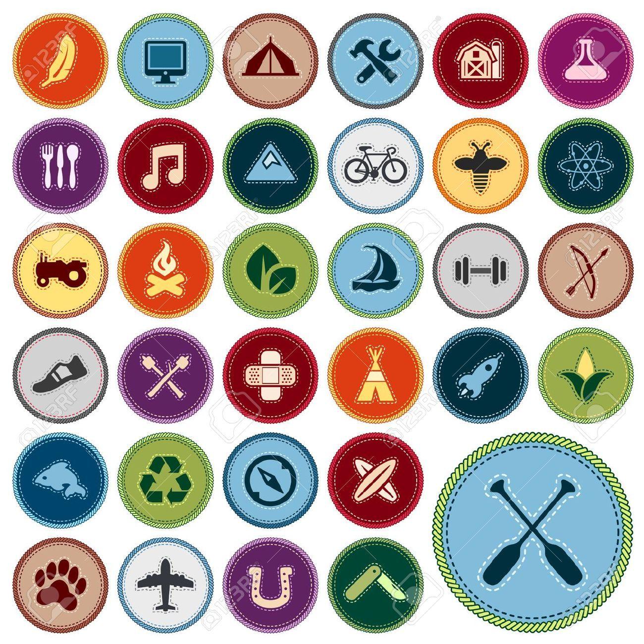 Pinterest insignias scout buscar. Camp clipart badge