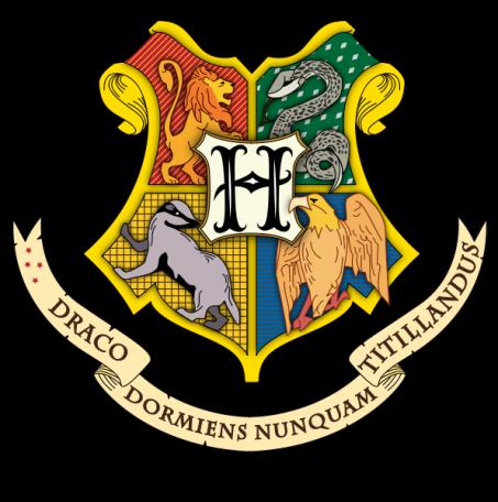 Crest . Clipart shield hogwarts