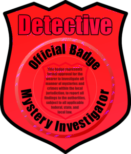 Badge clipart detective. I royalty free public