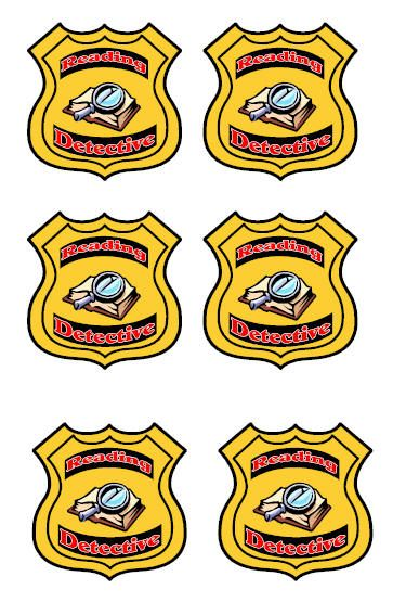 Would be great to. Badge clipart detective