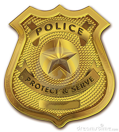 Police . Badge clipart detective
