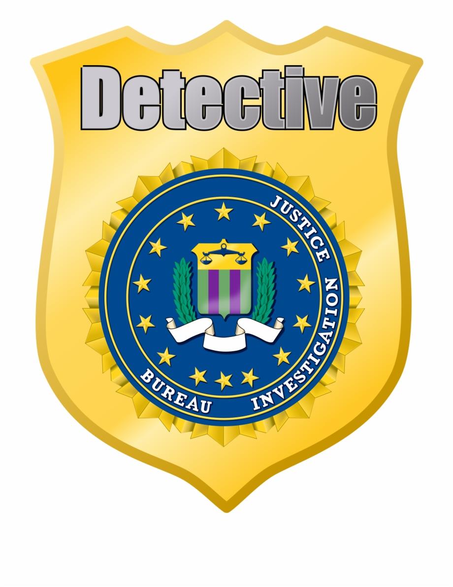 Transparent pngtube . Badge clipart detective