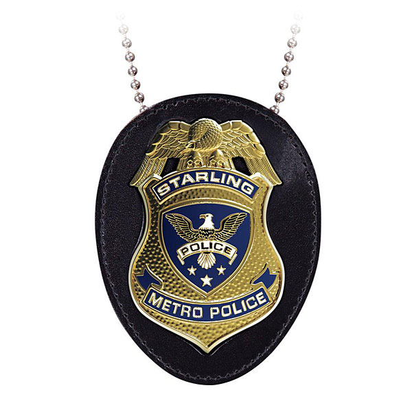 Picture of police starling. Badge clipart easy