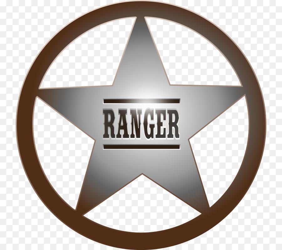 Badge clipart emblem. Star texas ranger division