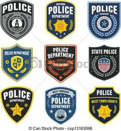 Police clip art free. Badge clipart emblem
