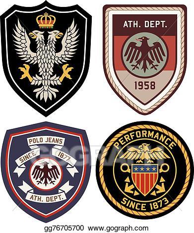 Vector stock classic royal. Badge clipart emblem