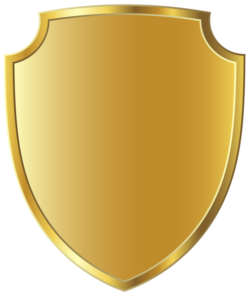 Badge clipart fancy. Gold template png image