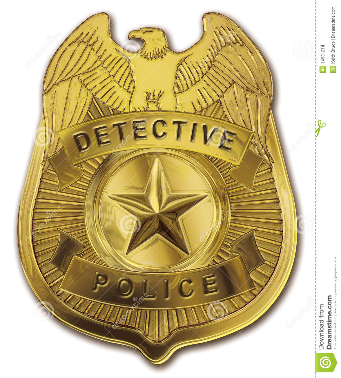 Superior police pics detective. Badge clipart fancy