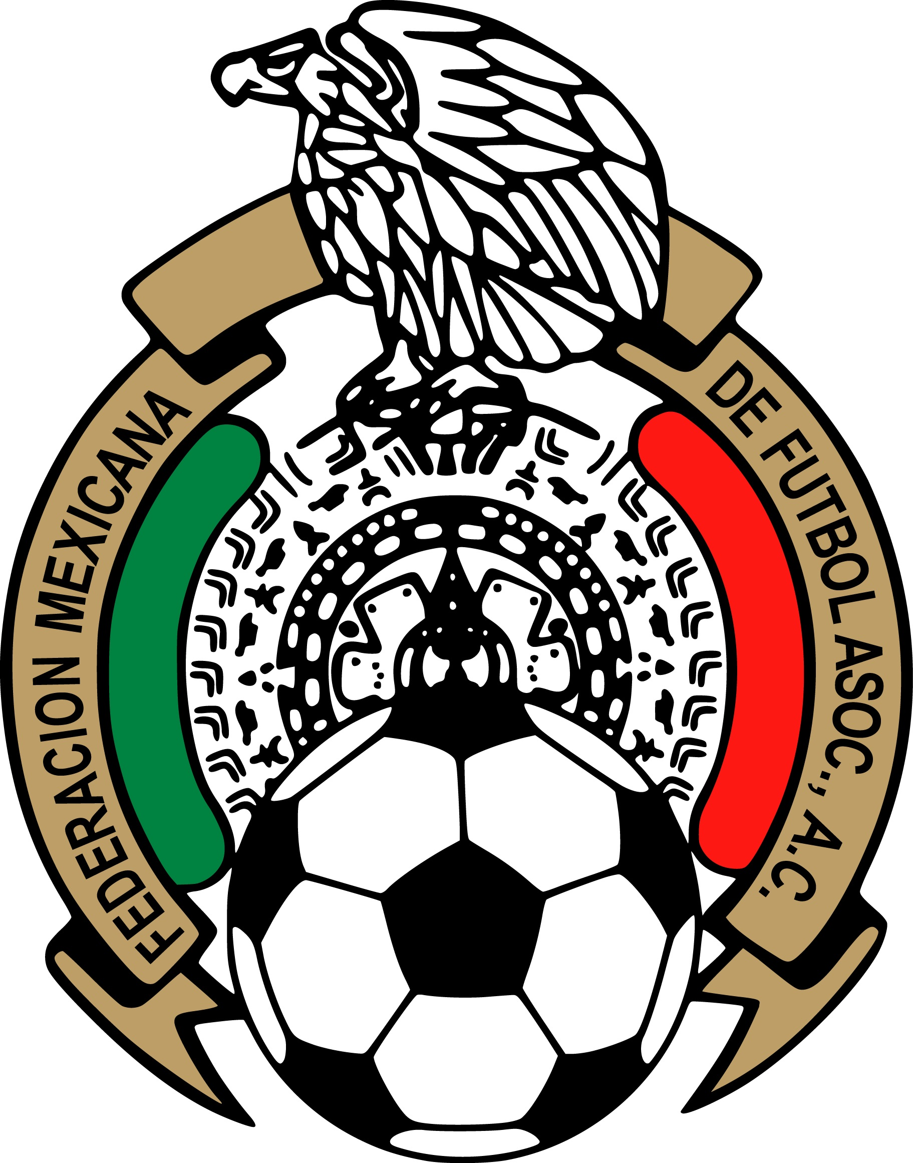 Free mexican soccer cliparts. Badge clipart football