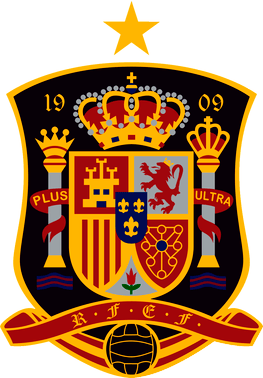 Spain national team logo. Badge clipart football