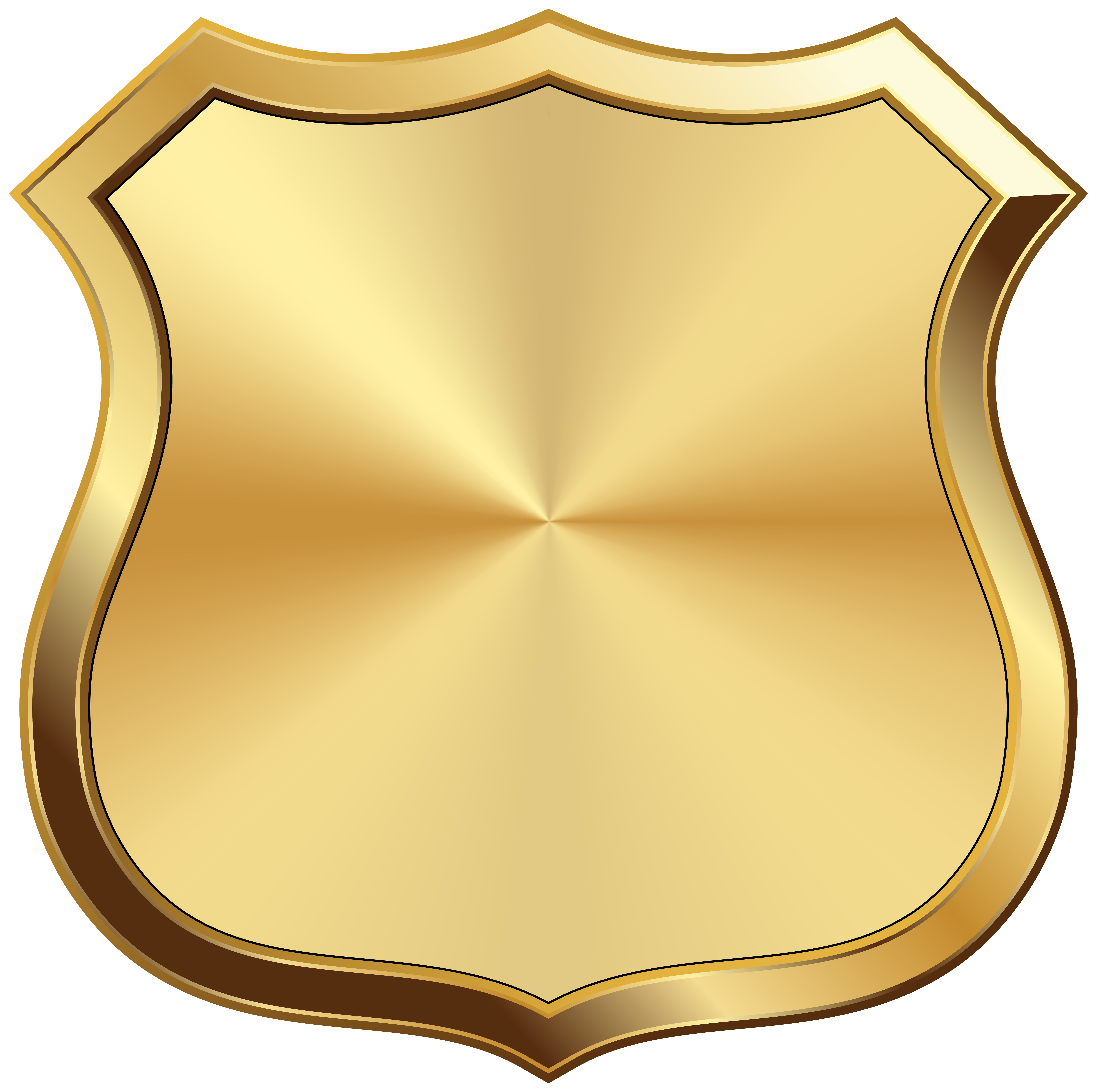 Transparent png image gallery. Badge clipart gold