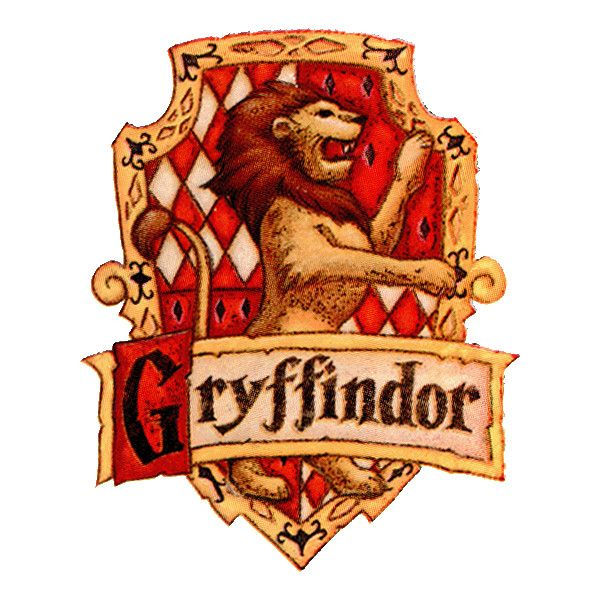 Banner liked on polyvore. Badge clipart gryffindor