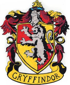 Fashion inspired by the. Badge clipart gryffindor