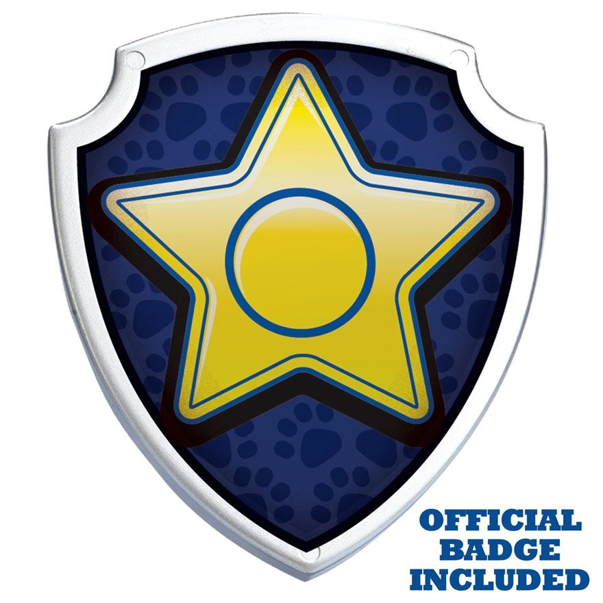 Paw patrol chase action. Badge clipart happy birthday