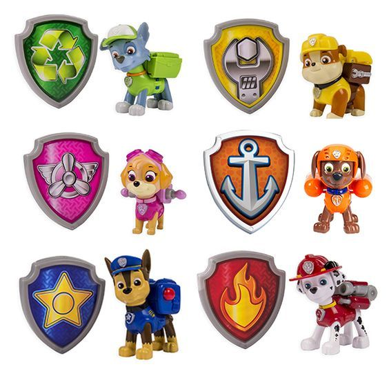 Badge clipart happy birthday. Paw patrol badges related