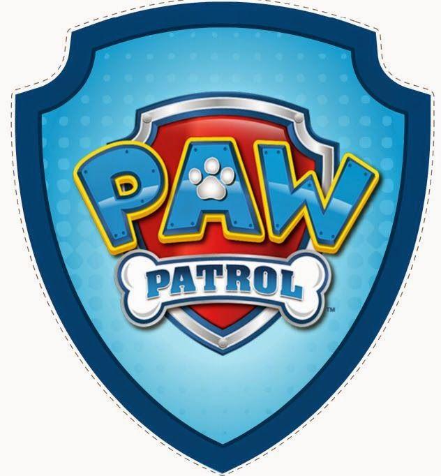 Badge clipart happy birthday.  best paw patrol