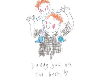 Etsy red daddy you. Badge clipart head boy
