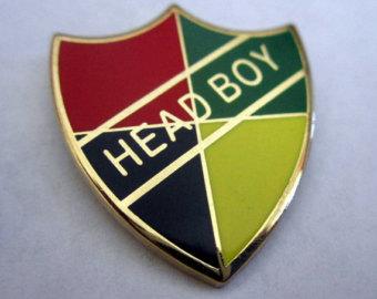 Etsy wizarding school or. Badge clipart head boy
