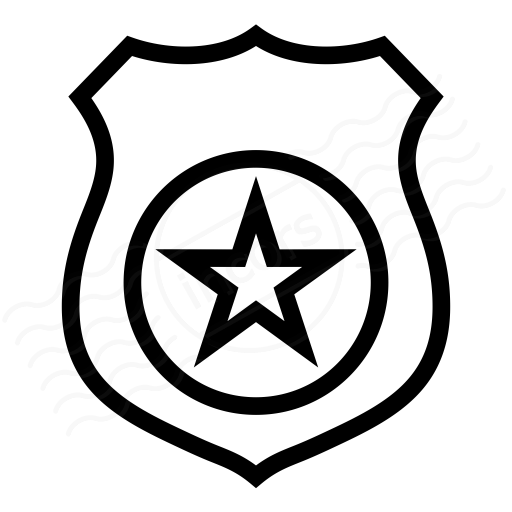 Badge clipart icon. Iconexperience i collection security