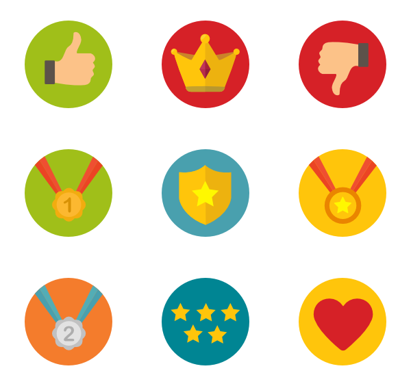 Badge clipart icon.  packs vector svg