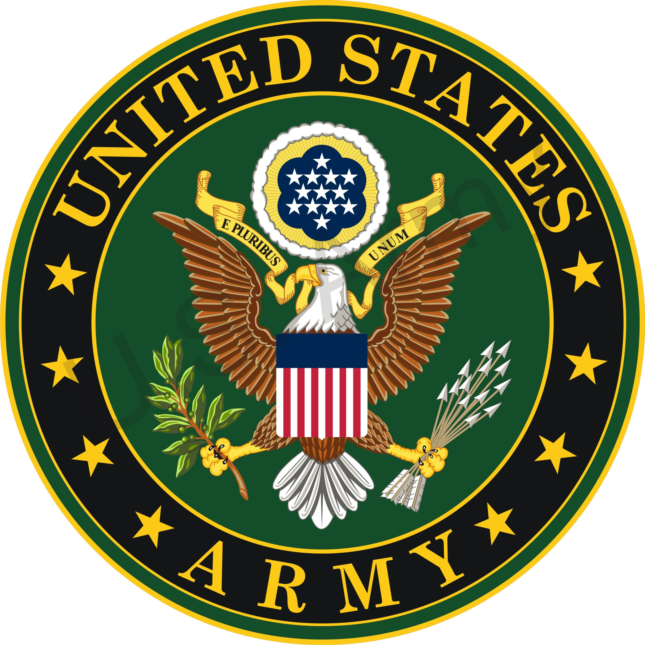 Us military . Badge clipart insignia