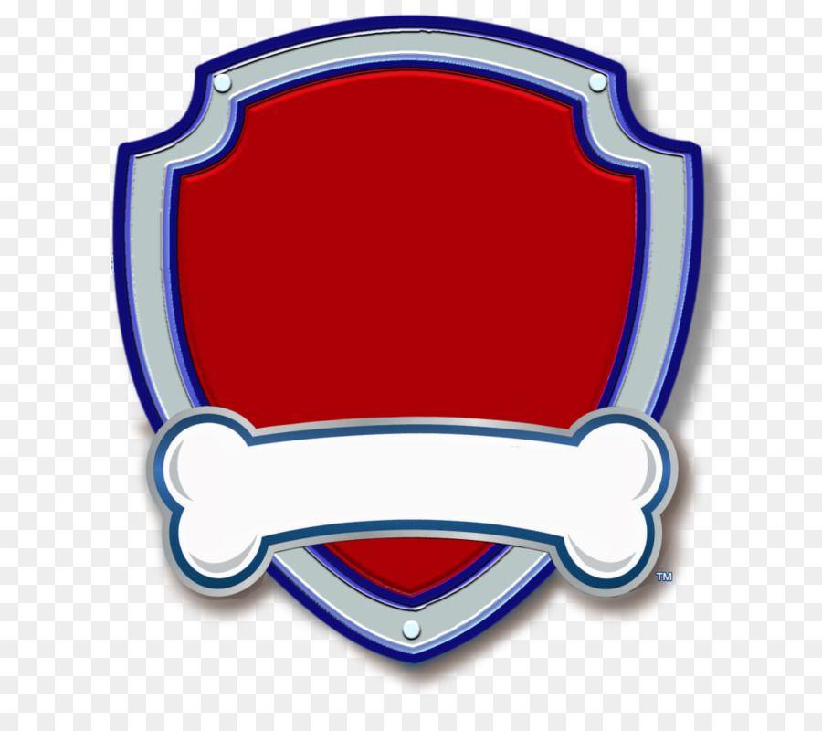 Badge clipart plain. Paw patrol printable in