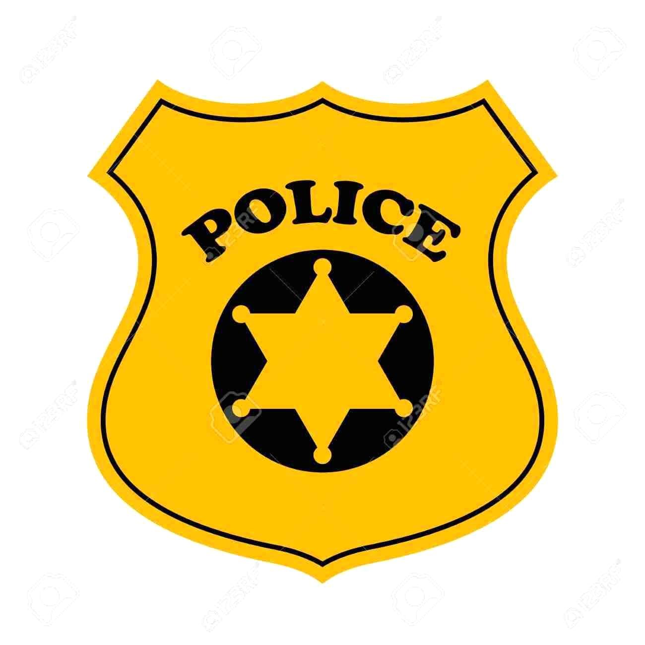 Badge clipart police officer. Station
