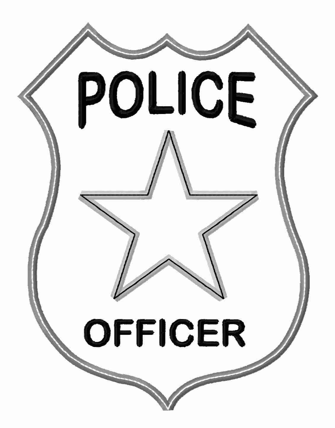 Best clipartion com inside. Badge clipart police officer