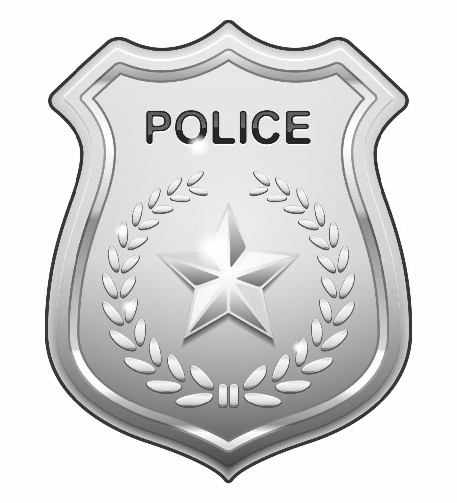 Badge clipart police officer. Clip art