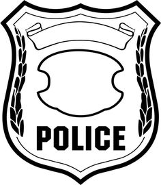 Clip art here are. Badge clipart police officer